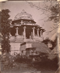 Front view of the chhatri or cenotaph of Singram Singh, Ahar, near Udaipur